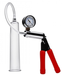 Deluxe Hand Pump Kit with 2 Inch Cylinder Enlargement Gear, Penis Pumps, Pumping Accessories and Extras