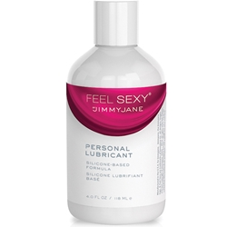 Jimmyjane Feel Sexy Personal Lubricant Silicone 4oz Water Lubricant