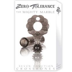 ZT Mighty Marble - Single Bullet Smoke Cock Ring / 1 Smoke Bullet Bullet, Cock Ring