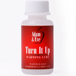A&E Turn It Up Lube 1oz. Water-based Lube, Warming Lube