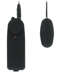 VelvaFeel Variable Speed Massager - Black Vibrating Sex Toys, Bullets and Eggs