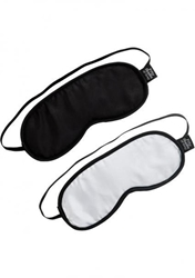 Fifty Shades No Peeking Blindfold 2 Pack Blindfold, Mask