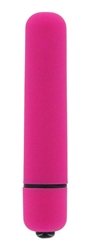 VelvaFeel 3.5 Inch Bullet Vibe - Pink Vibrating Sex Toys, Bullets and Eggs