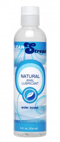 CleanStream Water-Based Anal Lube 8 oz Personal Lubricants, Anal Lube, Water Based Lube