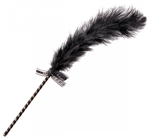 Frisky Feather Tickler - Black Games and Novelties, Feather Tickler