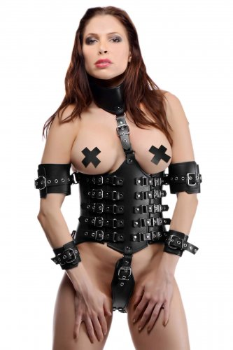 Ultimate Lockdown Female Waist Cincher Bondage Gear, Clothing and Lingerie, Tops Corsets and Bras