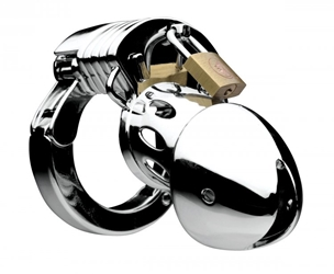 Incarcerator Adjustable Locking Chastity Cage Chastity, Cock and Ball Torment, Chastity for Him, Metal Chastity Devices