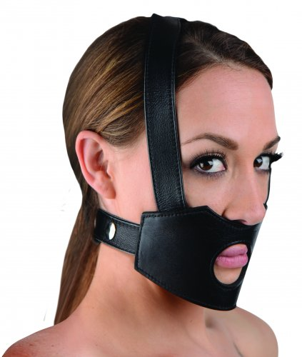 Face Fuk II Dildo Face Harness Strap-Ons and Harnesses, Masks, Thigh and Head Strap-On