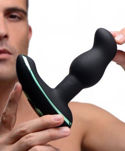 Rimsation 7x Silicone Prostate Vibe with Rotating Beads Anal Toys, Vibrating Sex Toys, Anal Vibrators, Prostate Stimulators, Vibrating Anal Toys, Silicone Anal Toys, Silicone Vibrators, Silicone Toys, Butt Plugs