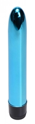 7 Inch Slim Vibe Blue Vibrating Sex Toys