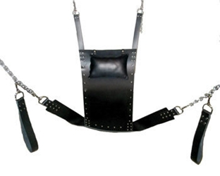 Strict Leather Premium Sex Sling Bondage Gear, Dungeon Furniture, Leather Bondage Goods, Swings and Sex Aids, Sex Swings