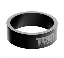 Tom of Finland 50mm Aluminum Cock Ring Cock Rings, Metal Cock Rings
