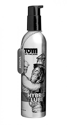 Tom of Finland Hybrid Lube- 8 oz Personal Lubricants, Anal Lube, Silicone Based Lube, Water Based Lube