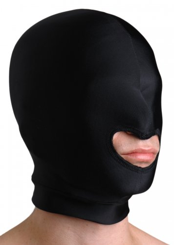 Premium Spandex Hood with Mouth Opening Hoods and Blindfolds, Hoods and Muzzles